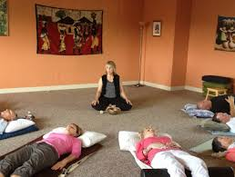 guided meditation stretching out