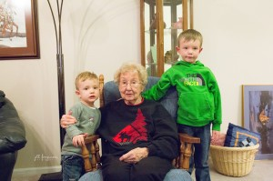 Kids adjusting to time with Grammy