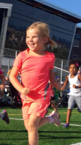 Kids love to run