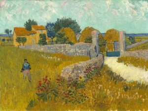 Farmhouse in Provence 1888 Vincent Van Gogh
