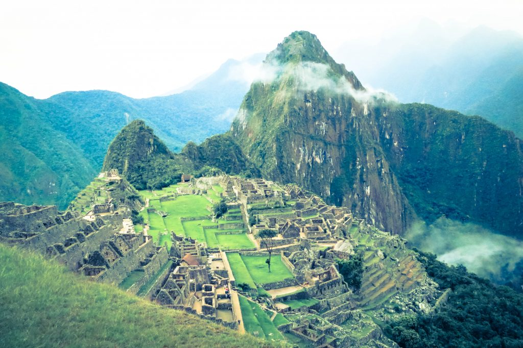 Spiritual Moments at Machu Pichu